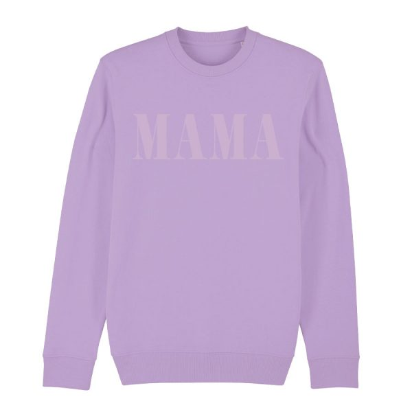 Whatelse Mama Pullover lila